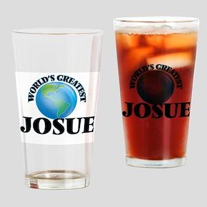 World's Greatest Josue Drinking Glass