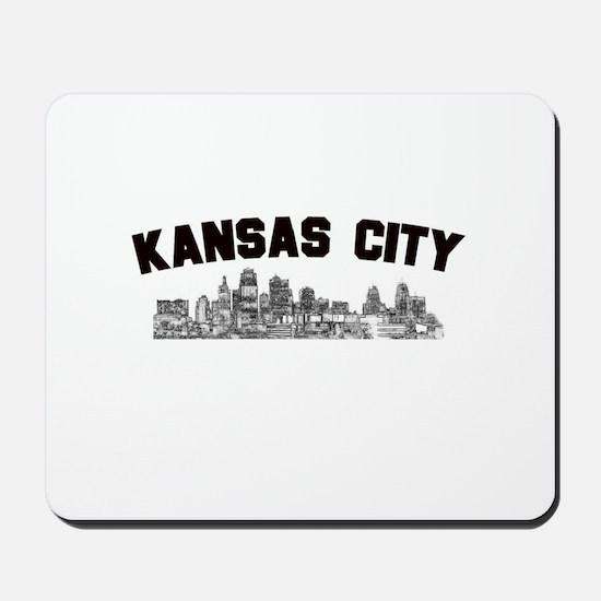 Kansas Cioty Skyline Mousepad