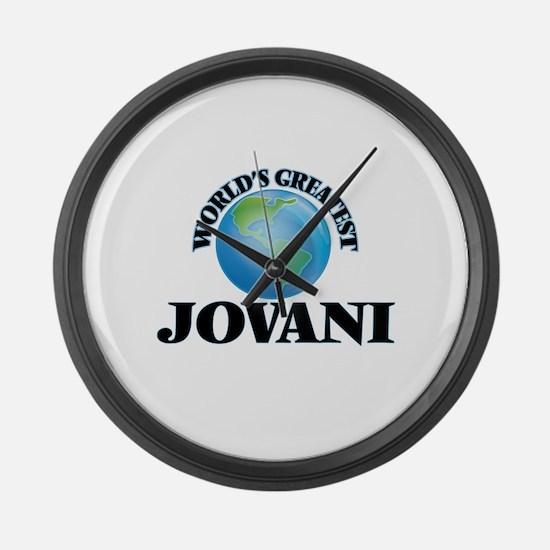World's Greatest Jovani Large Wall Clock