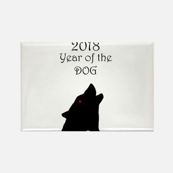 2018 Year of the Dog Magnets