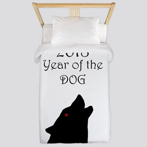 2018 Year of the Dog Twin Duvet Cover
