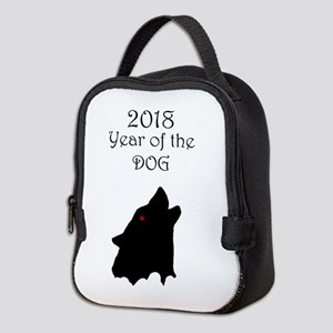 2018 Year of the Dog Neoprene Lunch Bag
