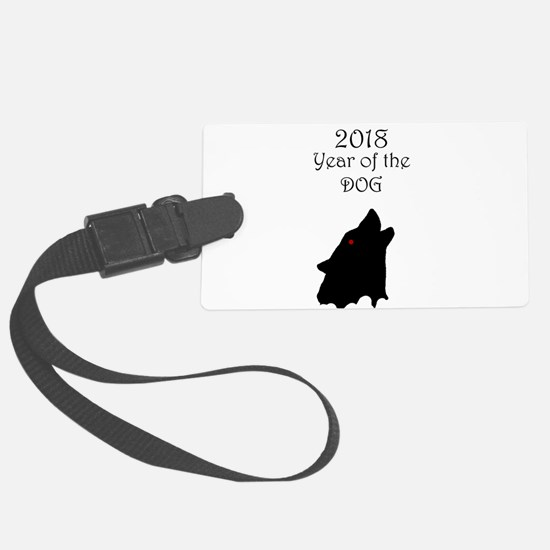 2018 Year of the Dog Luggage Tag