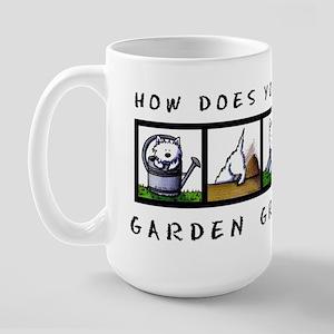 Garden Westies Large Mug