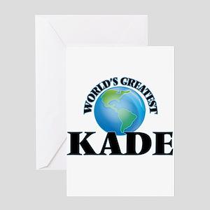 World's Greatest Kade Greeting Cards