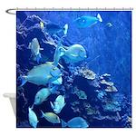 Maui Aquarium Shower Curtain