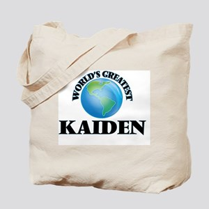 World's Greatest Kaiden Tote Bag