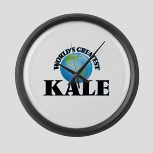 World's Greatest Kale Large Wall Clock