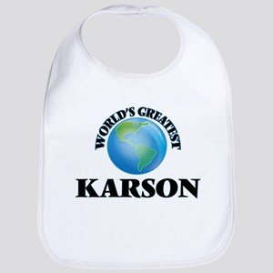 World's Greatest Karson Bib