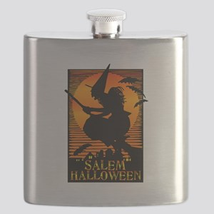 Halloween Salem Witch Flask
