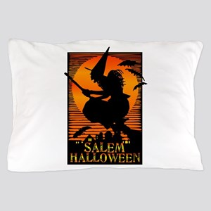 Halloween Salem Witch Pillow Case