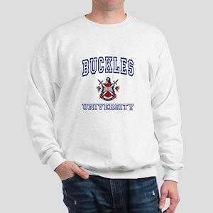 BUCKLES University Sweatshirt