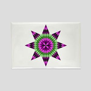 Native Purple Star Magnets