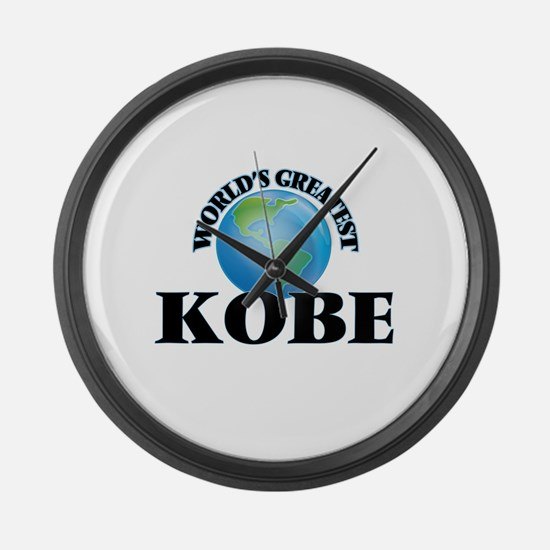 World's Greatest Kobe Large Wall Clock