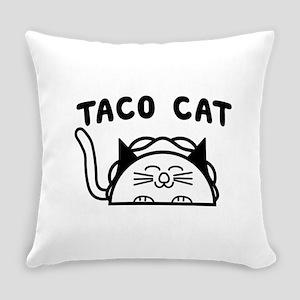 Taco cat Everyday Pillow