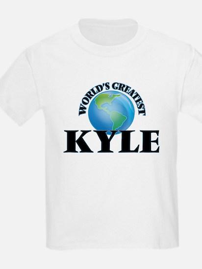 World's Greatest Kyle T-Shirt