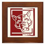 Year of the Boar Framed Tile
