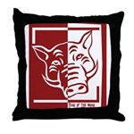 Year of the Boar Throw Pillow