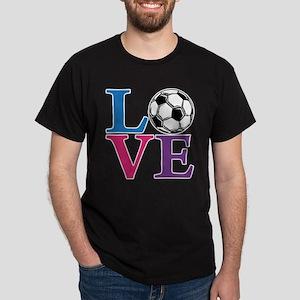 Soccer LOVE Dark T-Shirt
