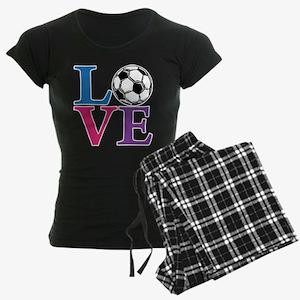 Soccer LOVE Women's Dark Pajamas