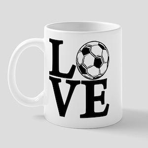 Soccer LOVE Mug
