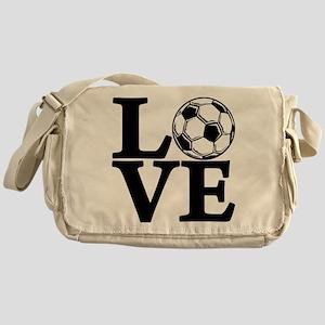 Soccer LOVE Messenger Bag