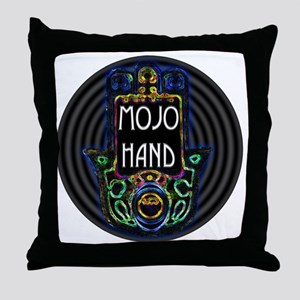 Mojo Hand Throw Pillow