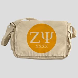 Zeta Psi Letters Class of XXXX Messenger Bag