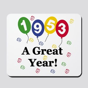 1953 A Great Year Mousepad