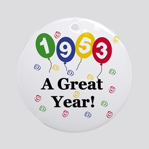 1953 A Great Year Ornament (Round)