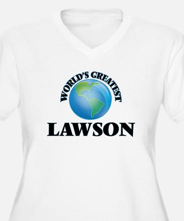 World's Greatest Lawson Plus Size T-Shirt