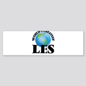 World's Greatest Les Bumper Sticker