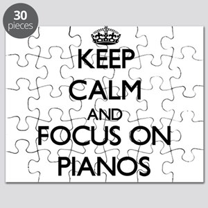Keep Calm and focus on Pianos Puzzle