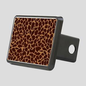 Giraffe Skin Patter Rectangular Hitch Cover