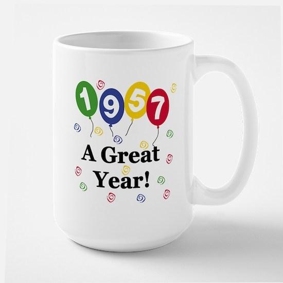 1957 A Great Year Large Mug