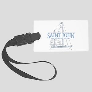 St. John NB - Large Luggage Tag