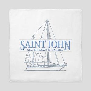 St. John NB - Queen Duvet