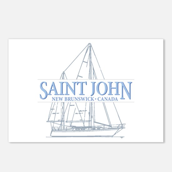 St. John NB - Postcards (Package of 8)