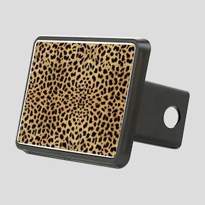 Leopard Skin Pattern Rectangular Hitch Cover