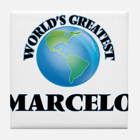 World's Greatest Marcelo Tile Coaster