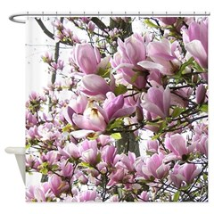 Magnolia Madness Shower Curtain