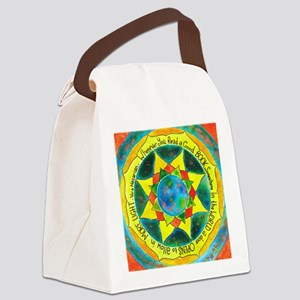 Reading Opens Doors... Canvas Lunch Bag