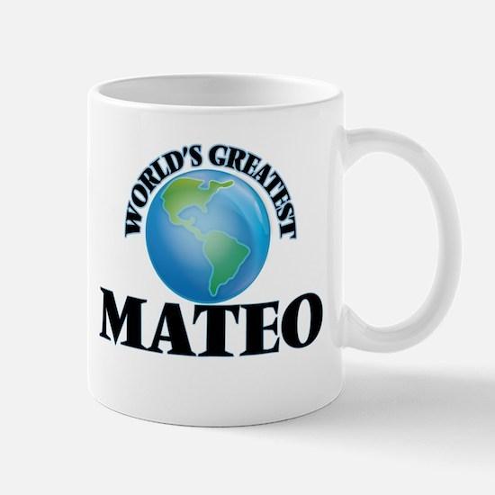 World's Greatest Mateo Mugs