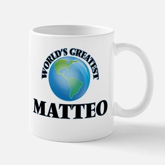 World's Greatest Matteo Mugs