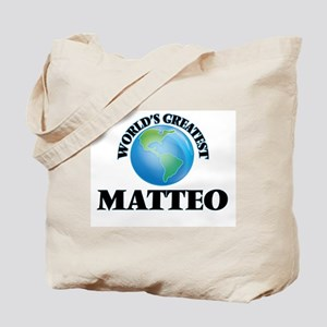 World's Greatest Matteo Tote Bag