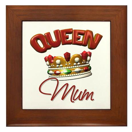 Queen Mum Framed Tile