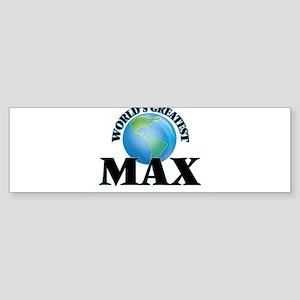 World's Greatest Max Bumper Sticker