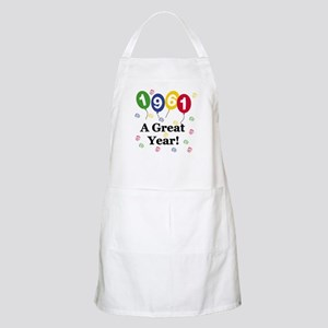 1961 A Great Year BBQ Apron