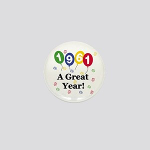 1961 A Great Year Mini Button