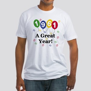 1961 A Great Year Fitted T-Shirt